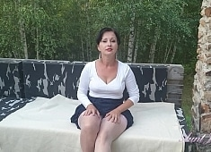 Auntjudys Wanilianna Masturbates Outside for You