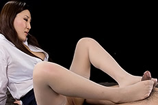Legsjapan (Japanese AV) Yuu Kazuki Office Girl Stocking Footjob