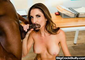 Big Cock Bully Big Cock Bully Silvia Saige Porn star Silvia Saige sticks up for her husband but must take a big black cock  Nov 11, 2020.mp4