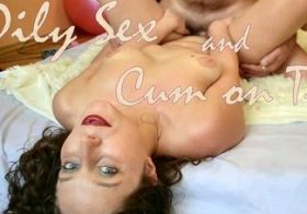 MydirtyHobby Oily Sex And Cum On Tits anjee_lowe