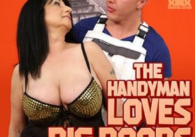 MATURE NL This handyman loves the big boobs from mature Sabine