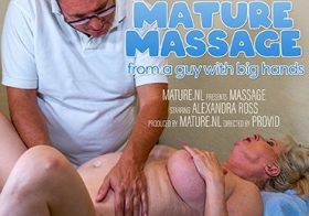 MATURE NL Curvy Alexandra Ross gets a special massage