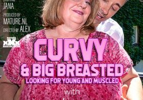 MATURE NL Curvy big breasted Jana loves younger muscled men
