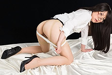 Legsjapan (Japanese AV) Minami Sakaida Office Girl in Stockings