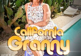 MATURE NL Californian Granny Demi loves getting hot in the sun