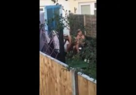 Yourvoyeurvideos Neighbors busted fucking outside