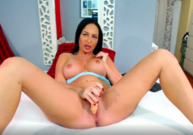 MydirtyHobby Brunette fuck her big tits with a dildo EngelRanya