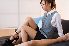 Legsjapan (Japanese AV) Mio Yoshida Office Girl Footjob