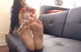 MANYVIDS DirtyLesbians in Barefoot Wrinkled Soles Toe Spreading