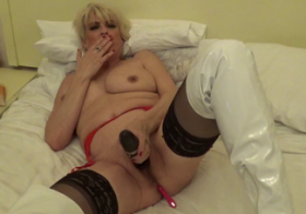 MydirtyHobby wand on my clit and vibrating ball in my arse dimonty