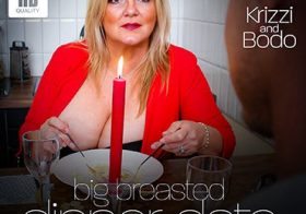 MATURE NL Big breasted Krizzi is ready for dinner!