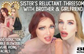 MANYVIDS RoxyCox in Shy Sisters Threesome with Brother & GF