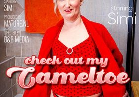 MATURE NL Mature Simi loves to show her cameltoe and then some