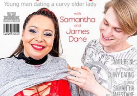 MATURE NL BBW Samantha loves to date toyboys and then some