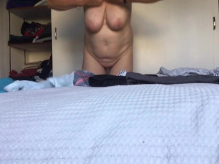 Wife dressing secretly taped  Preview