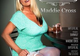 MATURE NL MILF Maddie Cross is eagerly waiting for you at the bar