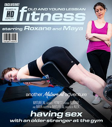 Old And Young Lesbian Fitness  Preview