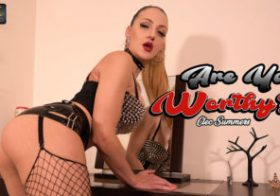 Wankitnow Cleo Summers  Are You Worthy?