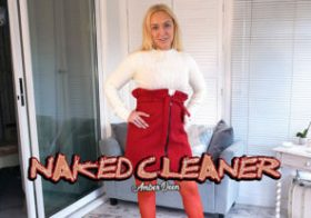 Wankitnow Amber Deen  Naked Cleaner